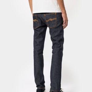 NUDIE JEANS Thin Finn Dry Twill Jeans